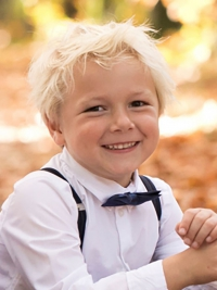 blond kindermodel Siem
